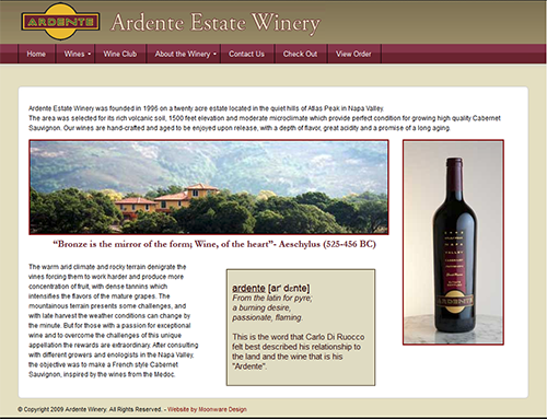 Ardente Estate Winery