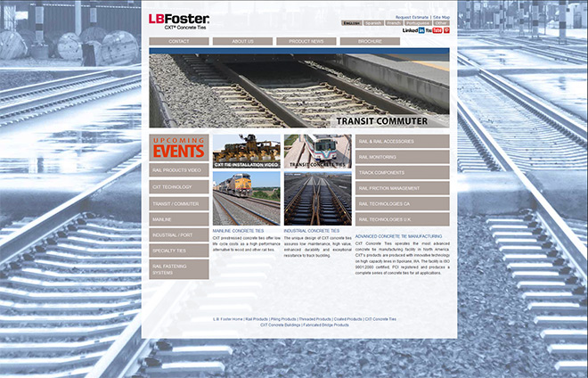 L.B. Foster – CXT Concrete Ties