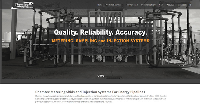 Chemtec Metering Skids And Injection Systems For Energy Pipelines