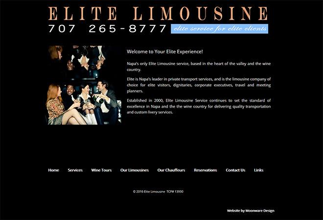Elite Limousine Service, Napa, CA