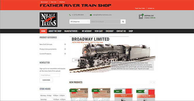 Feather River Train Shop