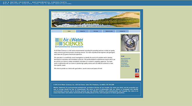 Air & Water Sciences