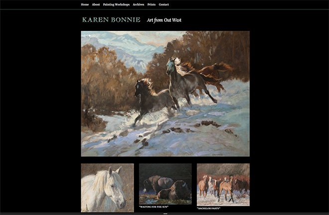 Karen Bonnie – Art From Out West