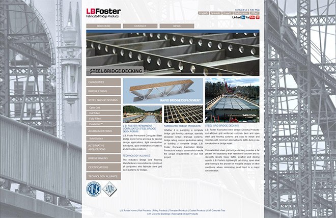 L.B.Foster Fabricated Bridge Products
