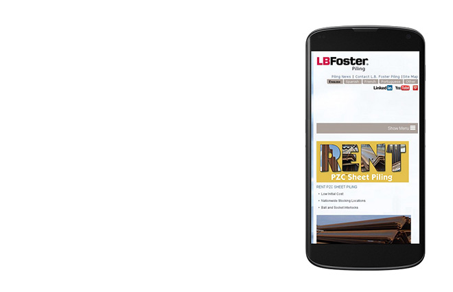 LBFoster PilingProducts Mobile 660