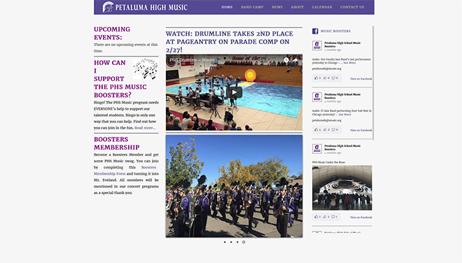 Petaluma High Music